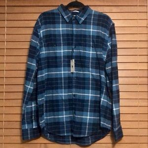 Lucky Brand - Men's L/S Flannel Plaid Button-Up